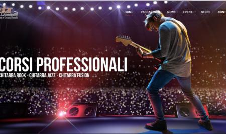 Nuovo sito Guitar Academy